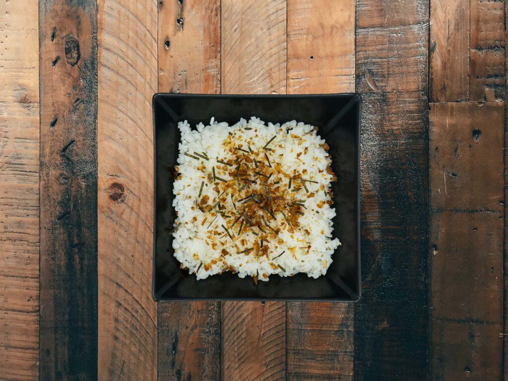 arroz con furikake